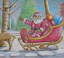 Santa Claus by thuraya arts