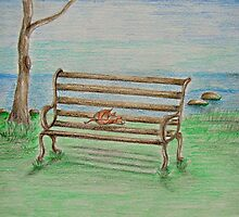 Bench by thuraya arts