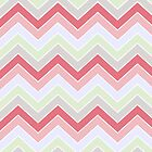 Cotton Candy {chevron pattern} by sweettoothliz