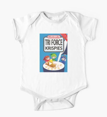 Tri Force Krispies One Piece - Short Sleeve