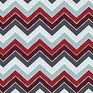 Modern Fall Colors {chevron pattern} by sweettoothliz