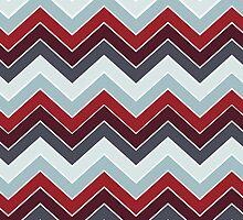 Modern Fall Colors {chevron pattern} by sweettoothliz