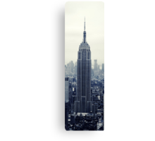 Empire State Building - New York Canvas Print