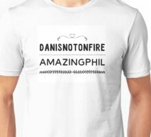 Danisnotonfire and AmazingPhil Unisex T-Shirt