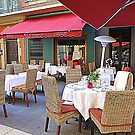 Al Fresco Dining In Nice by Fara