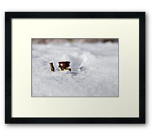 Deep Snow Framed Print