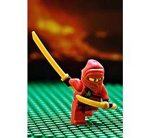 The Red Ninja Photographic Print