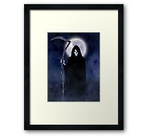 Death Arrives Framed Print