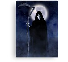 Death Arrives Canvas Print