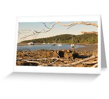 Cove at 1770, Queensland, Australia Greeting Card