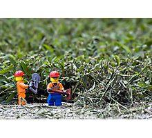 Yard Work Photographic Print
