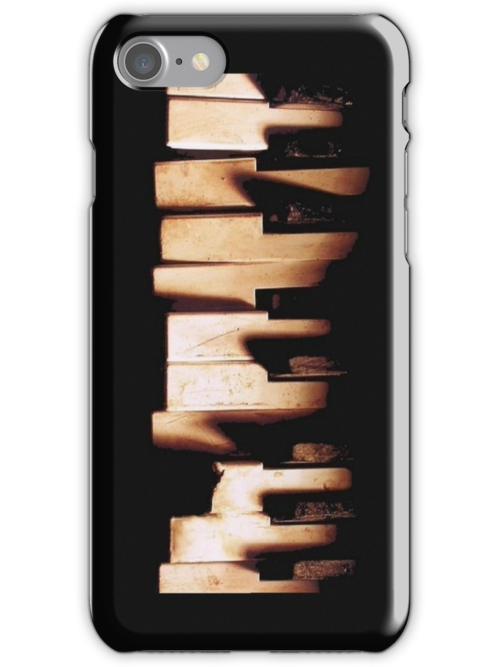 Broken Piano Iphone Case by triforce15