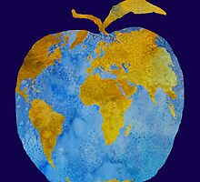 Earth Apple by PaintboxCollage