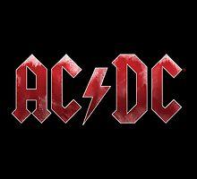 AC/DC Logo Vintage Grunge by robertnorris