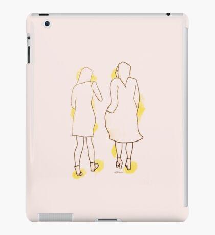 Two Girls Walking iPad Case/Skin