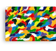 COLORFULL ABSTRACT Canvas Print