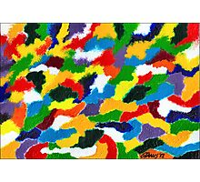 COLORFULL ABSTRACT Photographic Print