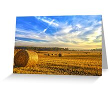 Halcyon Harvest Days Greeting Card