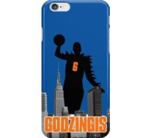 Godzingis- Blue iPhone Case/Skin