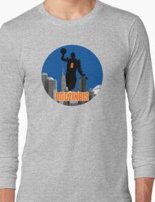 Godzingis- Blue Long Sleeve T-Shirt