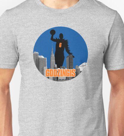 Godzingis- Blue Unisex T-Shirt