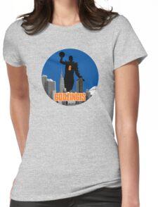 Godzingis- Blue Womens Fitted T-Shirt
