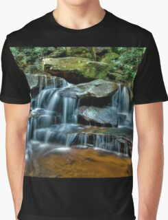 Lower Somersby Falls, Central Coast, New South Wales Graphic T-Shirt