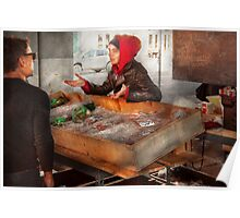 Bazaar - I sell fish  Poster