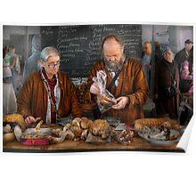 Bazaar - We sell fresh mushrooms Poster