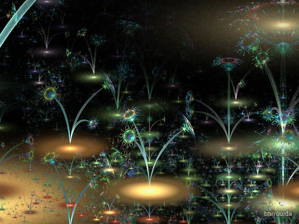 BC3DFlowers #1: Fairy Garden of Fantasia  (G0934) by barrowda