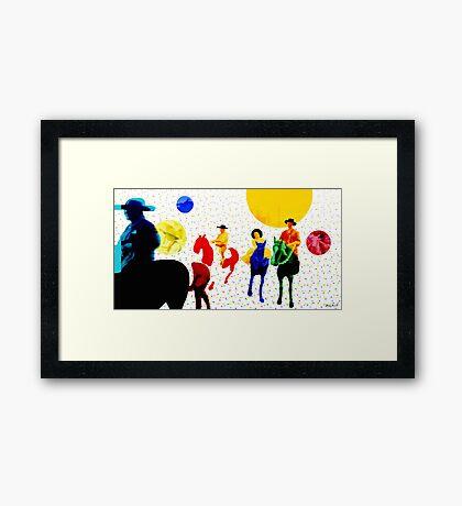 Parade Framed Print