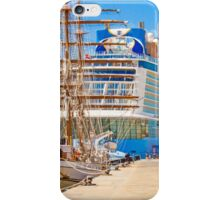 anthem of the seas and sagres iPhone Case/Skin