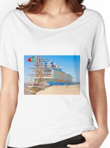 anthem of the seas and sagres Women's Relaxed Fit T-Shirt