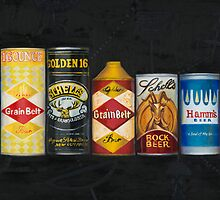 Beer Cans by VintagePainter