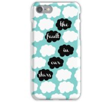 the way you fall asleep iPhone Case/Skin