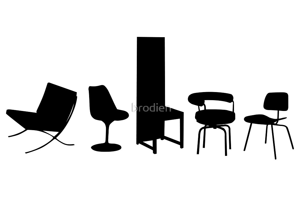 Architect-designed Chairs 20th Century by brodien