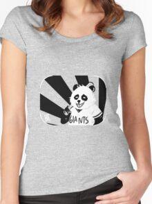 panda express [ver 1] Women's Fitted Scoop T-Shirt