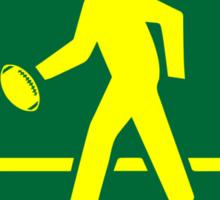 Green Bay Packer Street Sign Sticker