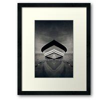 Boat Duality Framed Print