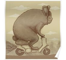 Bunny Ride Poster