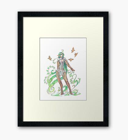 plant elf Framed Print
