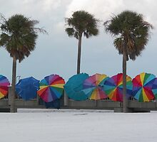 Windy Pier on Clearwater Beach by alamarmie
