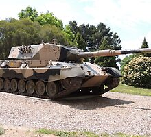 Leopard AS1 Main Battle Tank by ScenerybyDesign