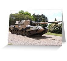 Leopard AS1 Main Battle Tank Greeting Card