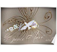 Peace Love Noel Poster