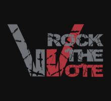 Rock the Vote Heavy Metal Style by David Ayala