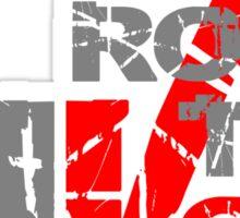 Rock the Vote Heavy Metal Style Sticker