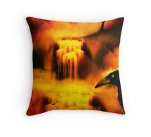 Ravens Nevermore Throw Pillow