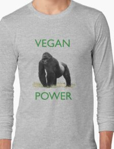 VEGAN POWER Long Sleeve T-Shirt
