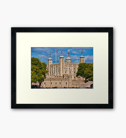 Tower from South Bank Framed Print